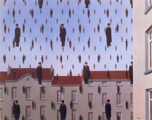 Surrealismo Magritte-golconde